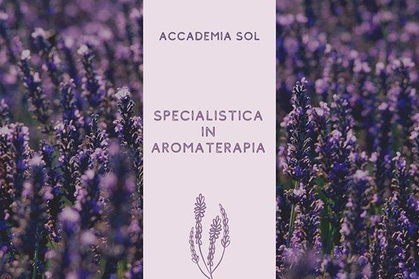 Formazione Specialistica in Aromaterapia