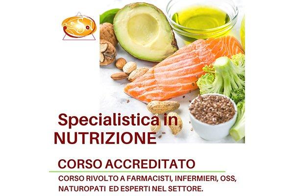 Formazione Specialistica in Nutrizione